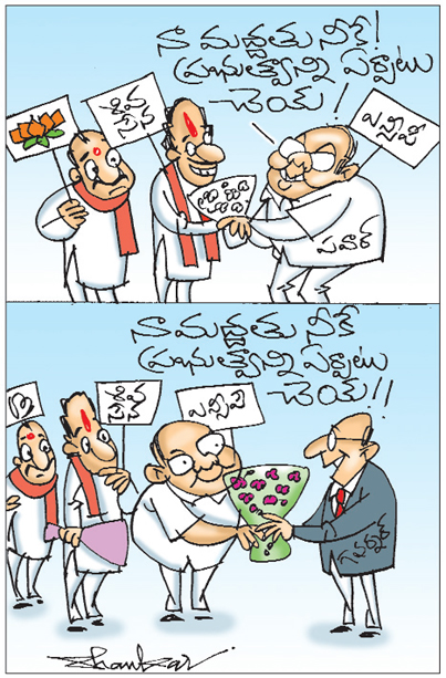 Sakshi Cartoon 12-11-2019