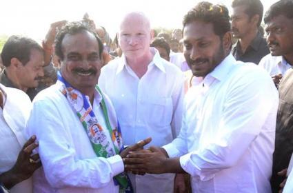 Dommeti venkateswarlu joins ysr congress party - Sakshi