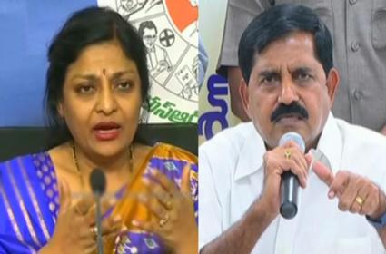 YSRCP Spokesperson Padmaja Naramalli takes on TDP leaders - Sakshi
