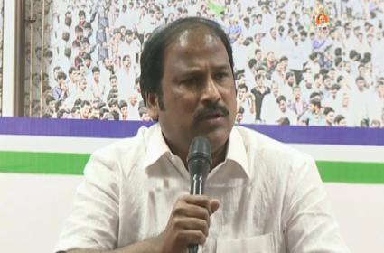 YSRCP Receiving Minister Adinarayana Reddy Challenge  - Sakshi