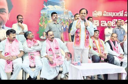 KCR Criticize On Congress - Sakshi