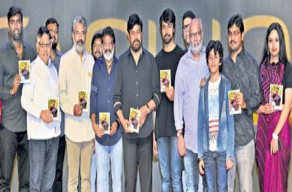 Chiranjeevi about Kalyan Dev at Vijetha Audio Launch  - Sakshi