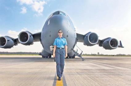 Goal of joining the Indian Air Force - Sakshi