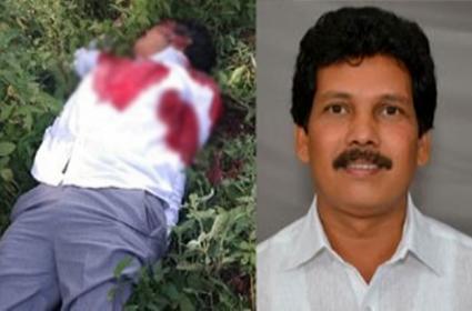 Is Quarry Dispute Cause Mla Kidari Murder - Sakshi