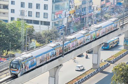 LB nagar-Ameerpet Metro Today - Sakshi