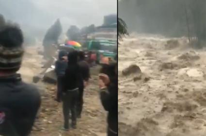 Hero Karthi Dev Movie Struked In Himachal Pradesh Floods - Sakshi