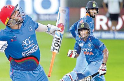 Afghanistan pull off last ball tie - Sakshi