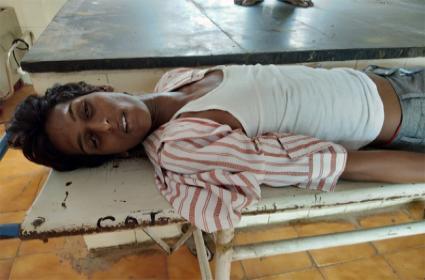 Transgender Suicide Attempt In YSR Kadapa - Sakshi