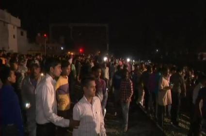Amritsar Train Accident People Seen Clicking Selfies When Train Ran - Sakshi