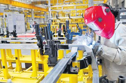 Industrial growth slips to 4-month low of 4.5% in Sept - Sakshi
