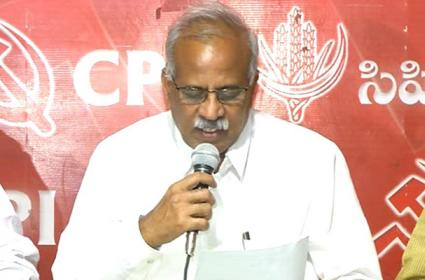 Telangana CPI Announced Candidates For Three Assembly Seats - Sakshi