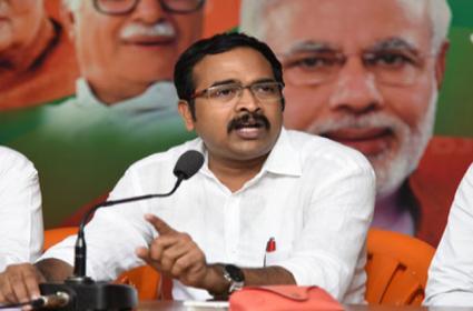 BJP Leader Krishna Sagar Rao Slams Asaduddin Owaisi - Sakshi