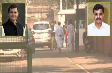 konda vishweshwar reddy meets Rahul Gandhi in delhi - Sakshi