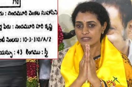 Mistakes in Nandamuri Suhasini Voter Id Card - Sakshi