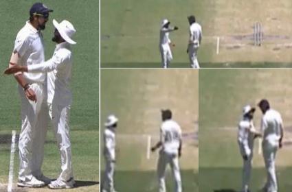 Ishant Sharma And Ravindra Jadeja in War of Words During 2nd Test - Sakshi