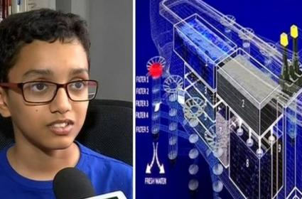 Pune Boy Designs Ship To Clean Oceans - Sakshi