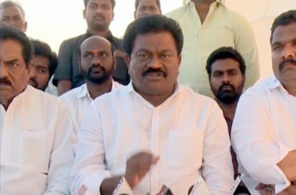 YSRCP BC Cell President Janga Krishna Murthy Slams Chandrababu In Eluru - Sakshi