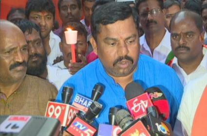 BJP MLA Raja Singh Lodha Says Every One Should Ready For Anything - Sakshi