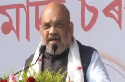 Amit Shah Says Will Not Let Assam Become Another Kashmir - Sakshi