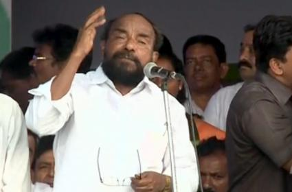 BC leader R.krishnaiah speech in ysrcp BC garjana conference - Sakshi