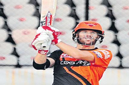 David Warner returns to IPL, scores fifty in practice game  - Sakshi