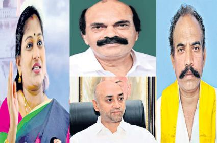 TDP Local Leaders Fires on Chandrababu naidu - Sakshi
