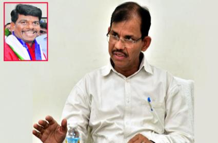 AP Chief Election Officer Letter To DGP Over Gorantla Madhav Relieving - Sakshi