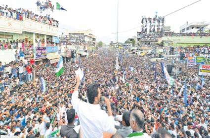 YS Jagan election campaign in Tiruvur and Repalle and Chilakaluripet - Sakshi