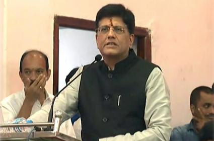 Piyush Goyal Release Chandrababu Letters On Special Status - Sakshi