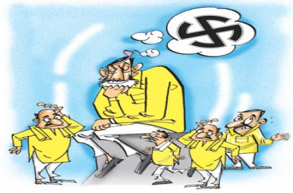TDP candidates is in fear of defeat - Sakshi