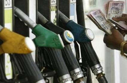 Petrol prices increased by 5 paise & diesel prices by 9-10 paise across 4 major cities - Sakshi