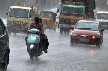 Rains In Hyderabad - Sakshi