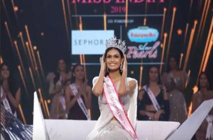 Suman Rao Won Femina Miss India 2019 - Sakshi