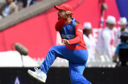 Rashid Khan Worst Figures By Any Bowler In World Cup History - Sakshi