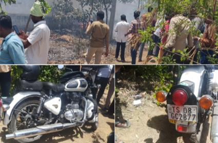 Youth Committed Suicide on Main Road - Sakshi