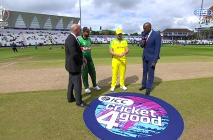 Australia Won The Toss And Elected to Bat First Against Bangladesh - Sakshi