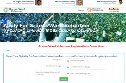 Urban Volunteers Notification Released in Andhra Pradesh - Sakshi