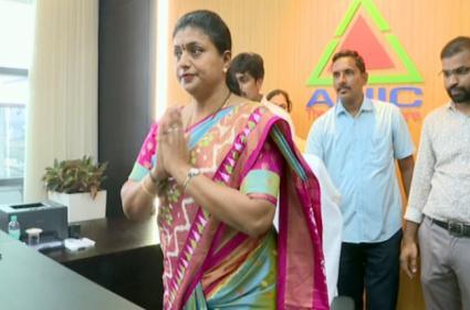 MLA Roja Takes Charge As APIIC Chairman - Sakshi