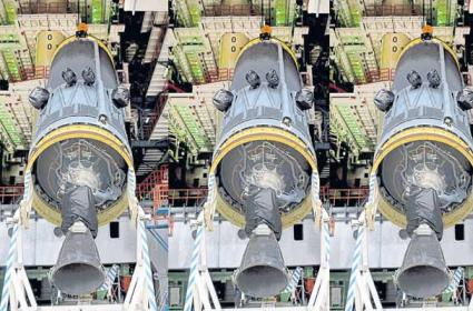 Chandrayaan 2 Project Stopped Due To Problem In Cryogenic - Sakshi