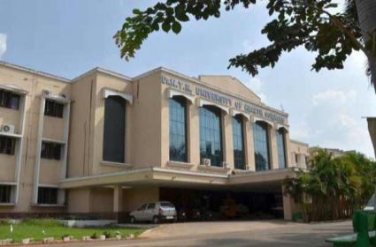 NTR Health University Staff Negligence Over CM YS Jagan Photo - Sakshi