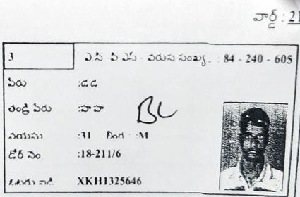 Shadnagar Municipal Voter List as full of Mistakes - Sakshi