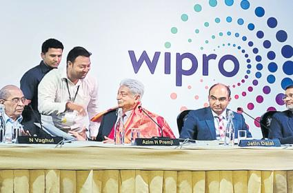 Azim Premji Said New Development  Wipro Company - Sakshi
