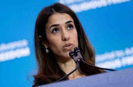 Donald Trump Asks Yazidi Activist Nadia Murad Why She Got Nobel Prize - Sakshi