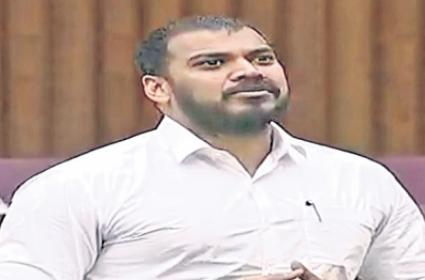 Minister Anil Yadav Fires On TDP In AP Assembly  - Sakshi