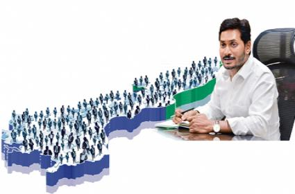 YS Jagan Mohan Reddy set a new record with above 4 lakh new jobs - Sakshi