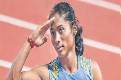 Hima Das Needs To Shave Off About 1.32 Seconds For An Olympic games - Sakshi