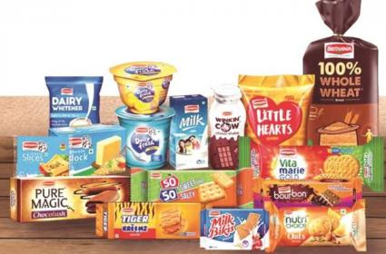 Britannia Industries falls nearly 4 Percent over low demand  - Sakshi