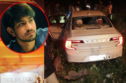 Raj Tarun Tweet About Car Accident - Sakshi