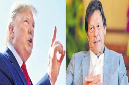 Donald Trump spoke to Narendra Modi and Imran Khan on the phone - Sakshi