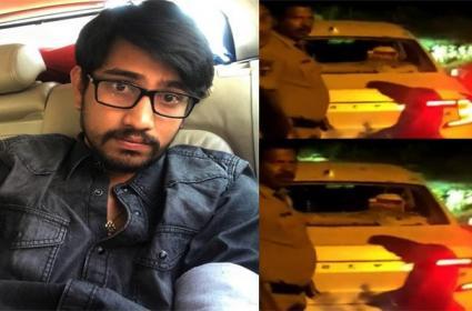 Case File Against Hero Raj Tarun on Car Accident - Sakshi